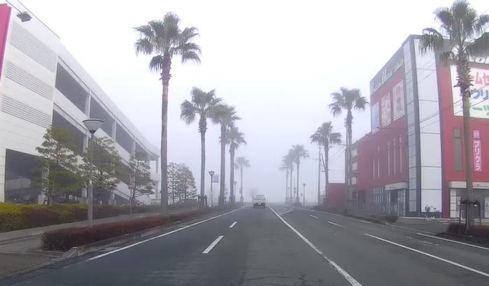 久留米市 濃霧 2019年1月27日