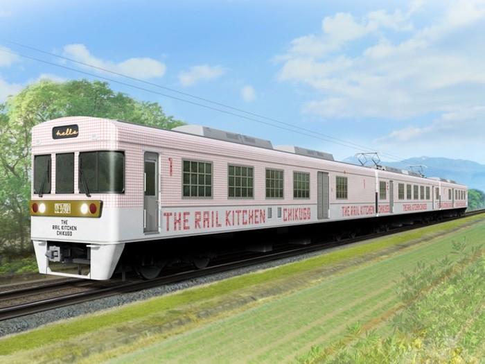 THE RAIL KITCHEN CHIKUGO 地域を味わう旅列車 3月23日運行開始