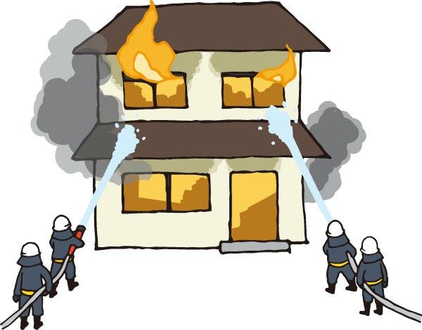 八女市で住宅一棟が全焼 殺虫剤スプレー缶が爆発か【火事情報】