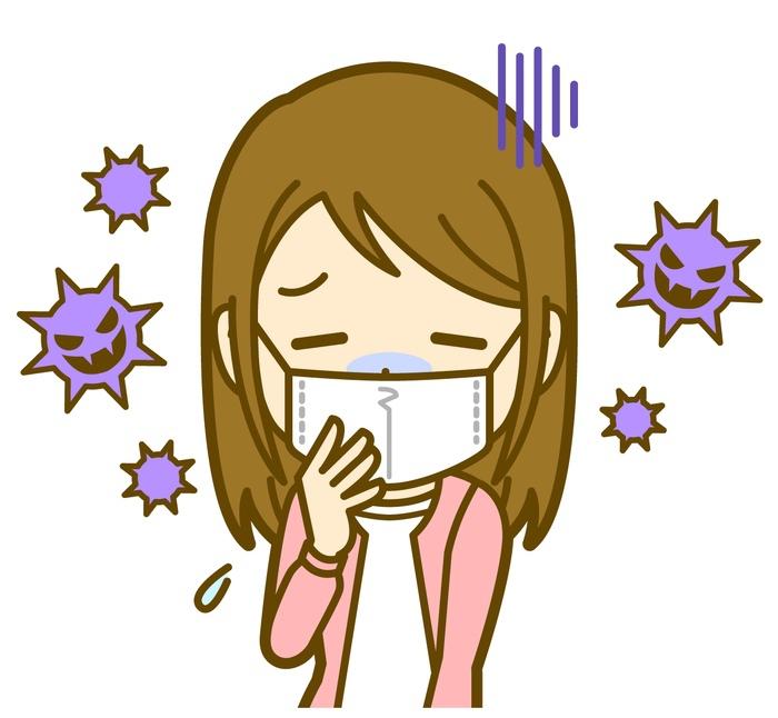 久留米市内 インフルエンザ