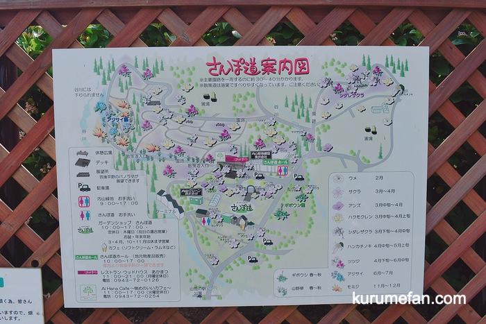 内山緑地 さんぽ道案内図