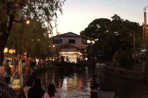 沖端水天宮大祭 舟舞台「三神丸」縁日の屋台も立ち並ぶ【柳川市】