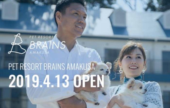 ペットリゾート ブレインズ天草 ベストアメニティが手がける宿泊施設オープン