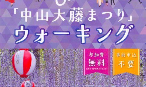 中山大藤まつりウォーキング 柳川市の景色を楽しもう!数量限定で特典も