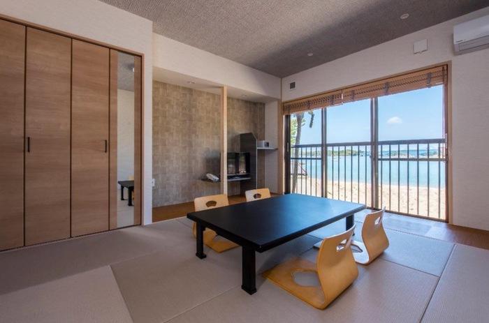 ペットリゾート ブレインズ天草 和室 素足で足を伸ばしてゆったり寛げる畳の客室