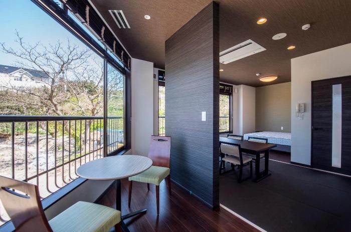 ペットリゾート ブレインズ天草 デラックスルーム ホテルで唯一の和洋室タイプの部屋