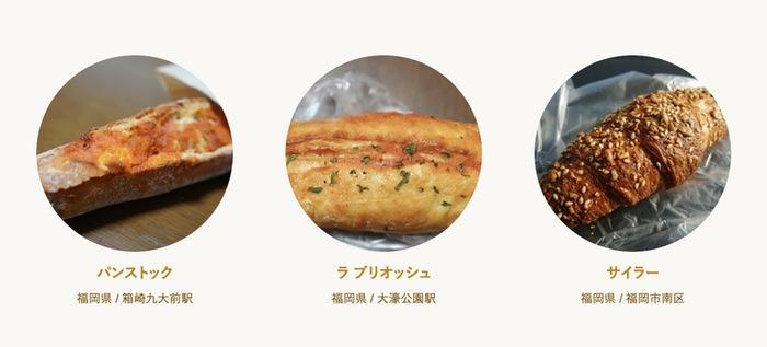 食べログ パン 百名店 2019に入った福岡県の3店