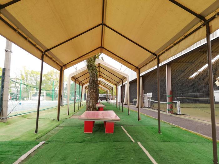 ブリヂストンスポーツアリーナ久留米 テニススクール 休憩所