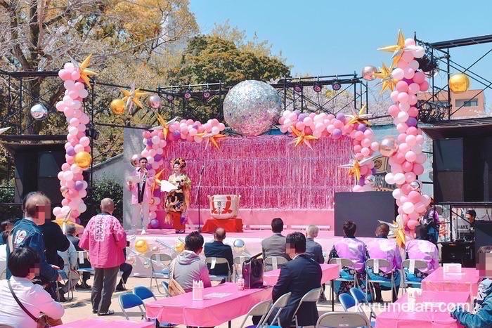文化街さくら祭り ステージ