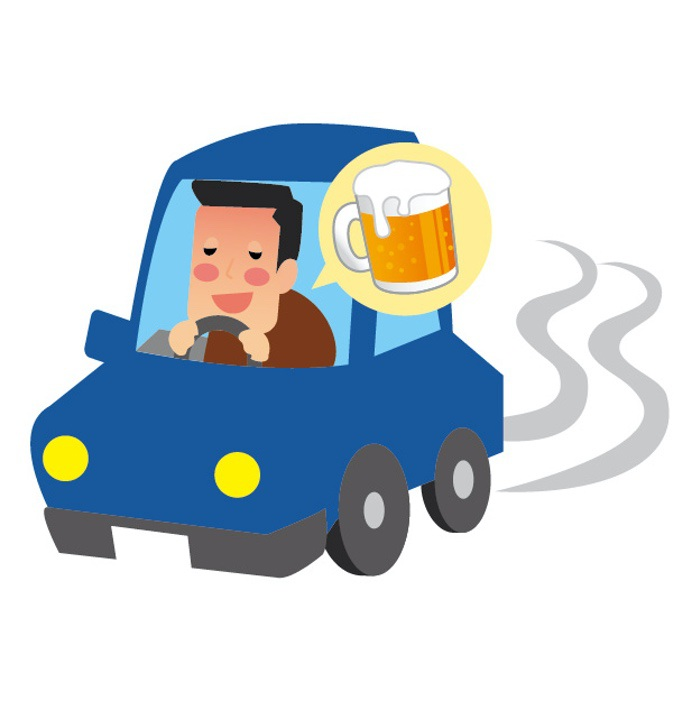 久留米市御井旗崎で酒気帯び運転容疑 男性を現行犯逮捕 信号停車中に居眠り