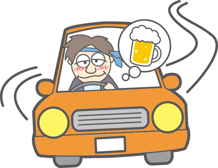 久留米市小頭町で酒気帯び運転容疑 男性を現行犯逮捕