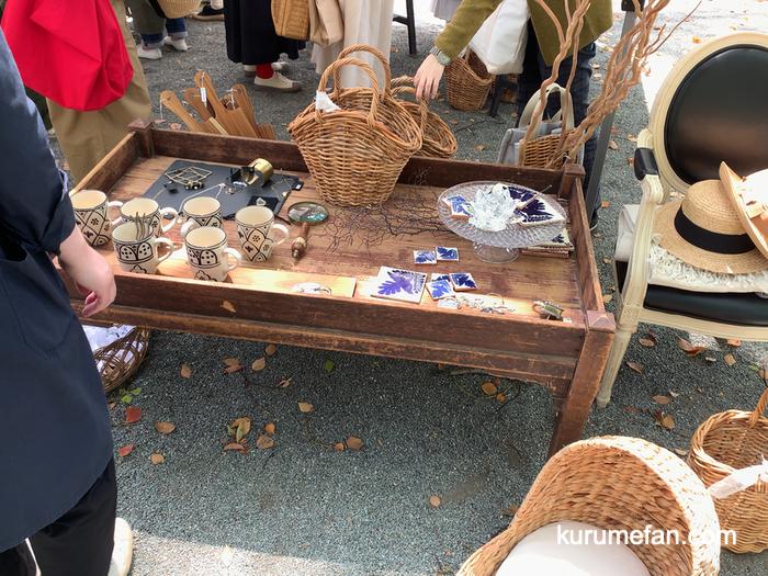 ラウラの森 水天宮境内のマルシェ 色々な雑貨