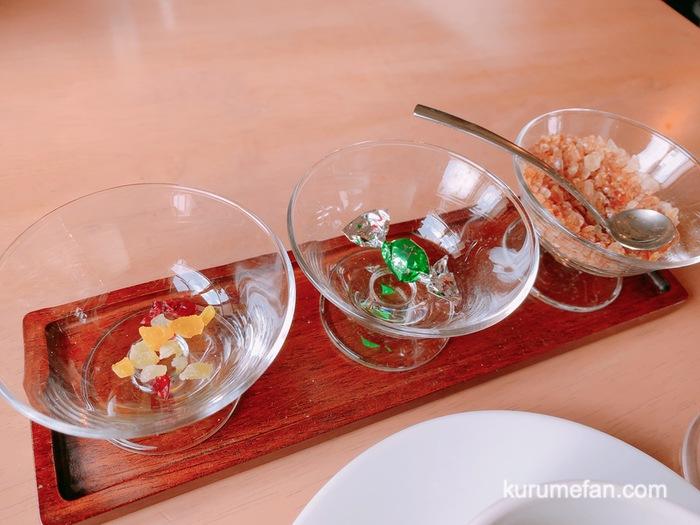 渡邉喫茶 ブレンドコーヒー ドライフルーツ、チョコレート、ザラメ