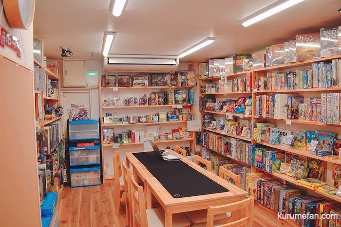 ボードゲームショップ&プレイスペースさいふる 1階 店内