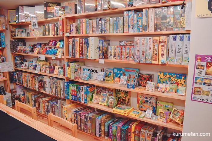 ボードゲームショップ&プレイスペースさいふる たくさんのボードゲーム