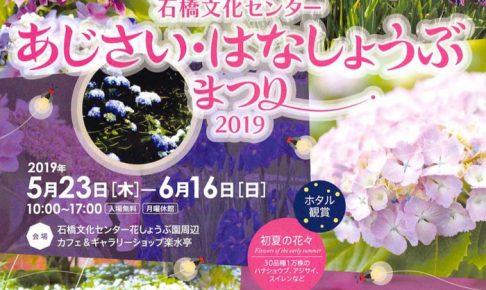 石橋文化センター あじさい・はなしょうぶまつり2019 ホタル鑑賞&コンサート