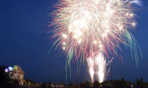 ちっご祭と筑後船小屋花火大会が統合「ちっご祭〜恋のくに花火大会〜」に名称変更し開催