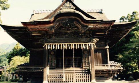 夢・クルーズ 久留米市草野町「須佐能袁神社」を放送
