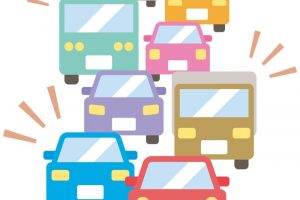 九州道(上り線)八女IC〜久留米IC間 交通集中による渋滞が発生