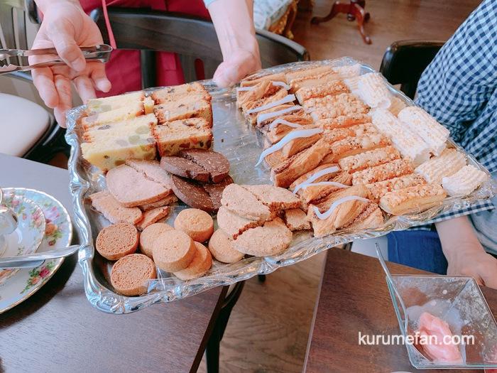 銀のすぷーん 久留米本店 スペシャルケーキセット 焼き菓子