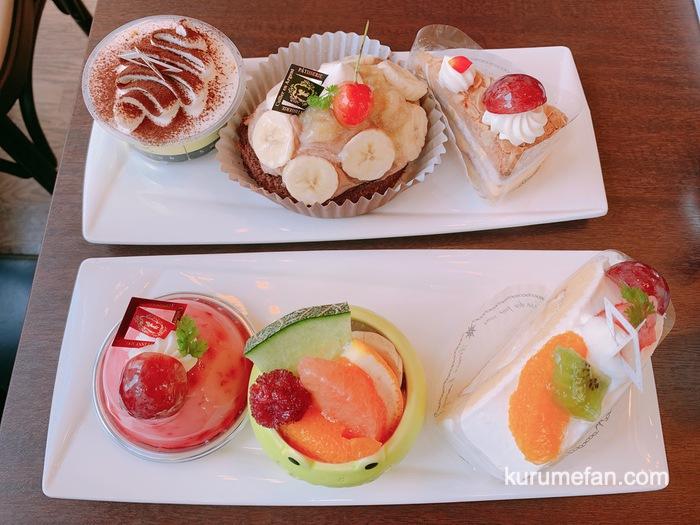 銀のすぷーん スペシャルケーキセットを食べてきた!ジェラート・焼菓子食べ放題!
