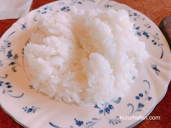 ミヤザキ ハンバーグランチ ライス(大分県産 竹田米)