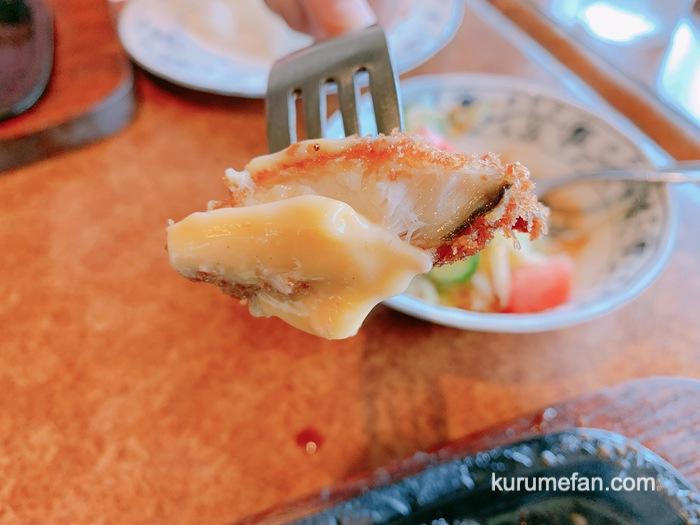 ハンバーグの店ミヤザキ 魚のフライ