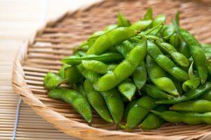 枝豆狩り 久留米市田主丸町「星光ファーム旬」有機栽培、無農薬の枝豆