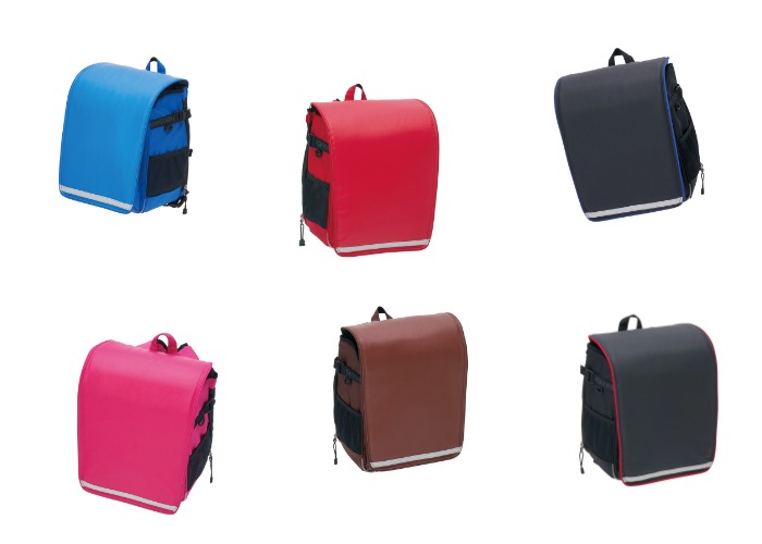 リュックセル 6種類のカラー