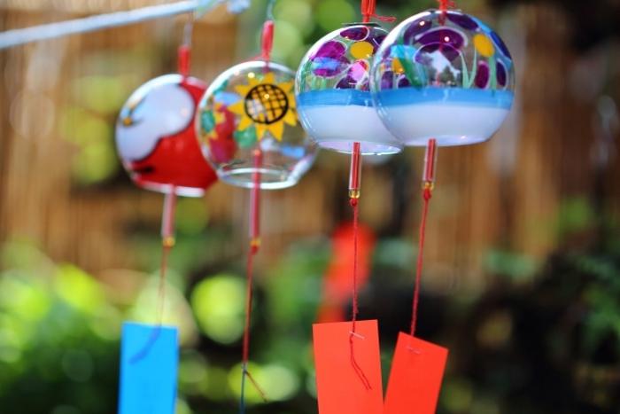 如意輪寺 夏の大祭 風鈴まつり 風鈴の涼やかな音色【小郡市】