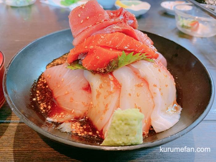 翠藍(すいらん)ボリューム満点!海鮮丼が安くて美味いお店【久留米市】