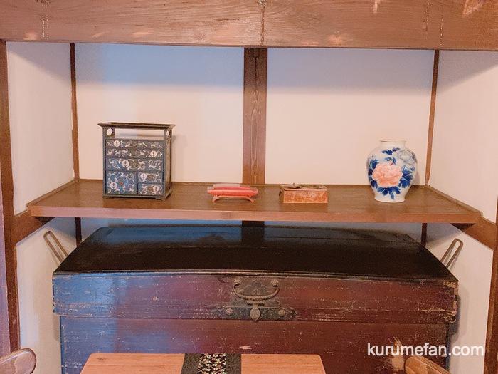 お茶とお食事処 森山 鳥栖店 歴史を感じる小物