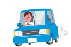 久留米市櫛原町 酒気帯び運転の疑いで男を現行犯逮捕 ふらつきながら走行