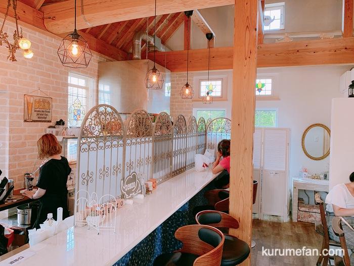 小郡市 zenzo cafe(ゼンゾウ カフェ)店内
