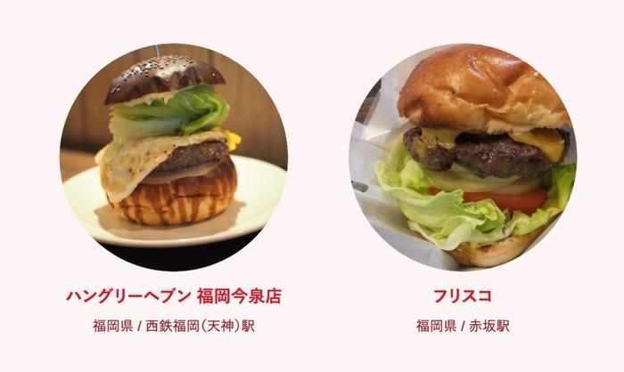 食べログ ハンバーガー 百名店 2019に入った福岡県の2店