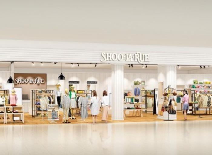 SHOO・LA・RUE(シューラルー) イオン小郡店 9月中旬オープン