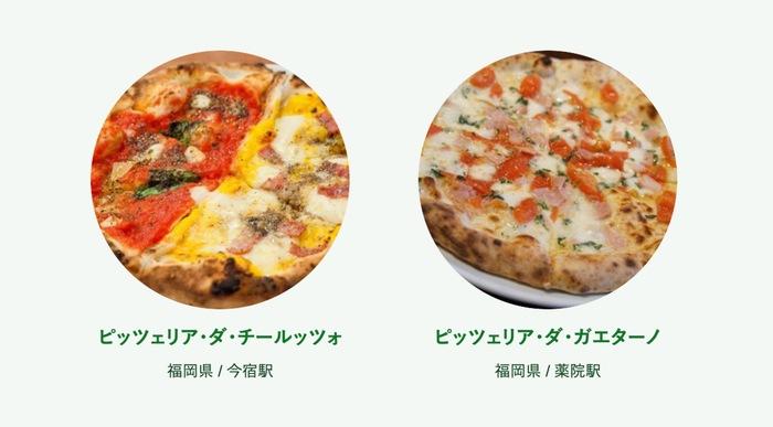 食べログ ピザ 百名店 2019に入った福岡県の2店