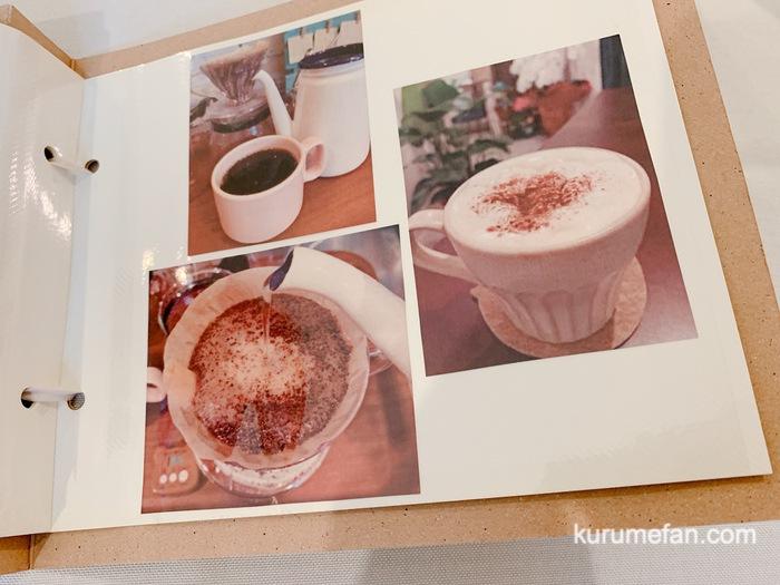 カフェ食堂 Otogi メニュー表 飲み物