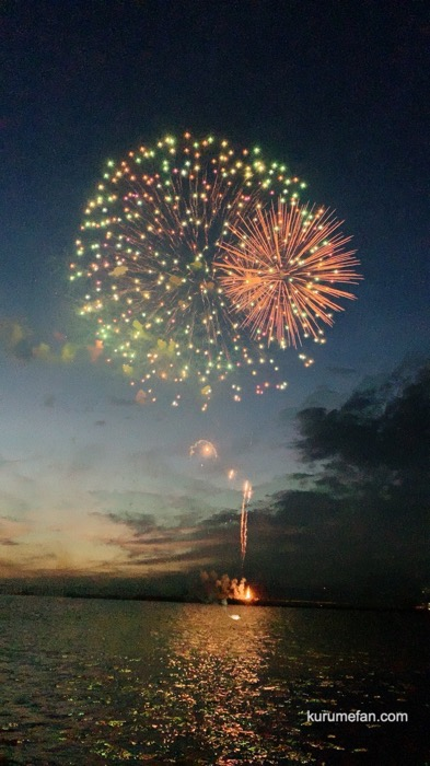 久留米市 筑後川花火大会 久留米の夜空を彩る