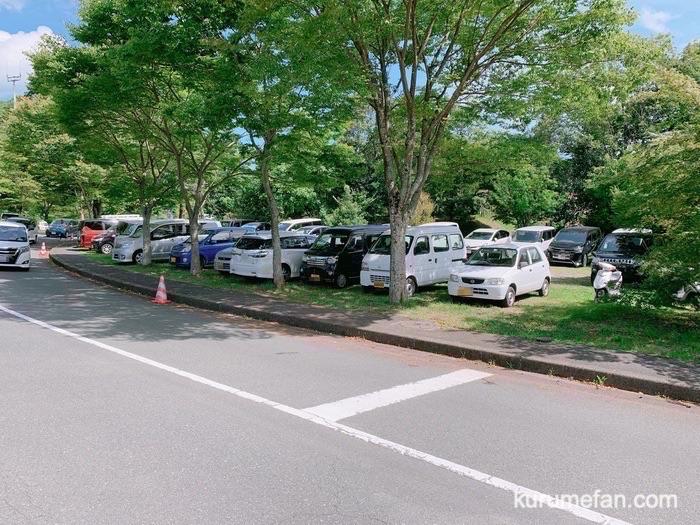 グリーンピア八女 レジャープール駐車場