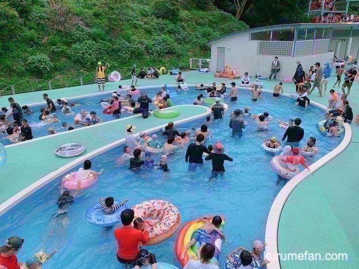 グリーンピア八女 レジャープール 流水プール