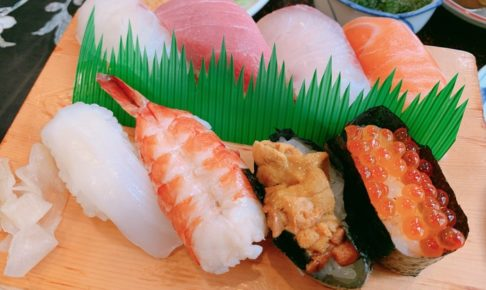 一心 久留米で美味しい寿司屋さん すし定食が絶品!【鮮魚店直営】