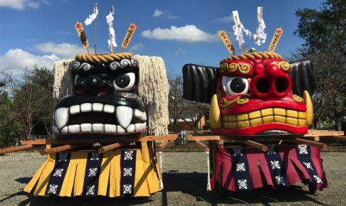 久留米市「第47回 城島ふるさと夢まつり」大迫力!2体の大獅子のパレード