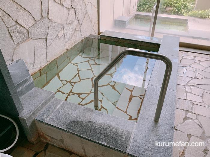 黒木温泉 くつろぎの湯  家族風呂かえで 内風呂