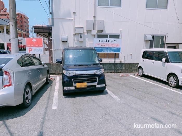 KURUMEジェラートカフェ(久留米ジェラートカフェ)駐車場