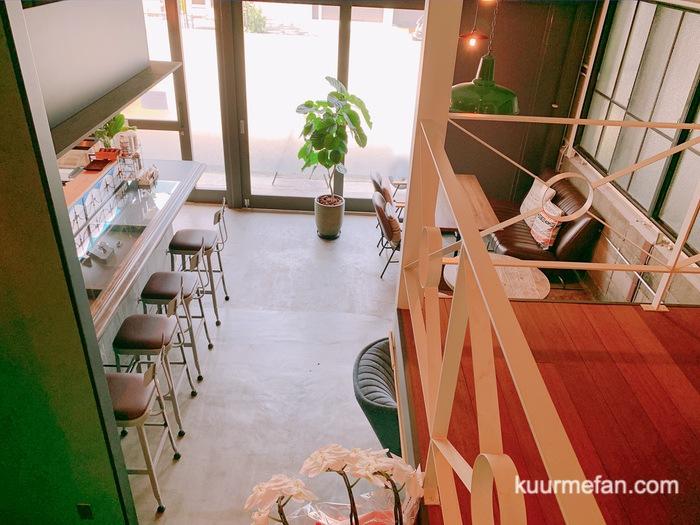 KURUMEジェラートカフェ(久留米ジェラートカフェ)中二階の店内