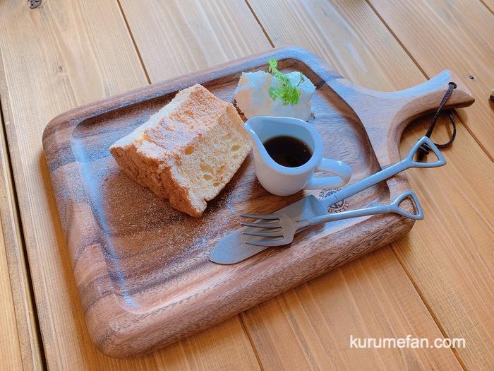 九重高原定食 デザートセット『メープルシフォン』