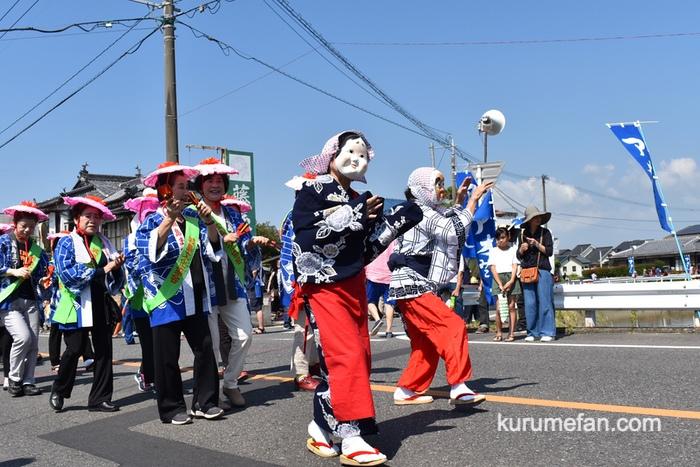 城島ふるさと夢まつり 仮装パレード