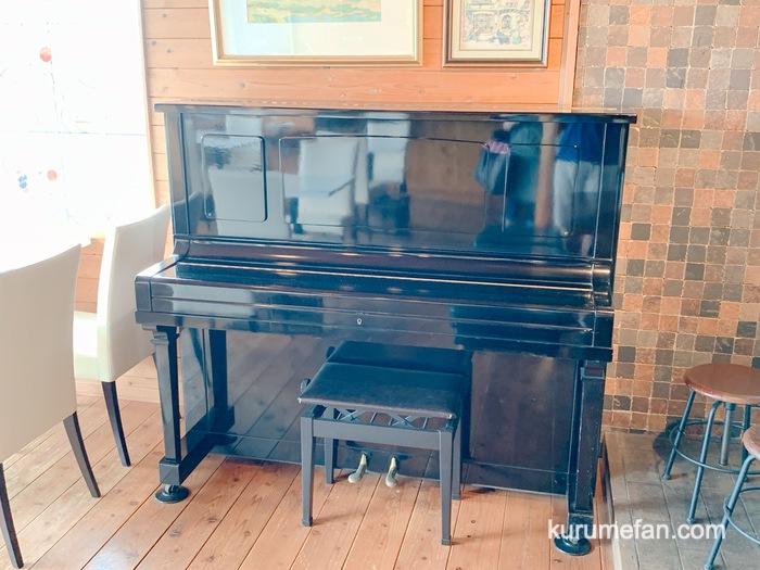 みのう山荘 カフェ ピアノ