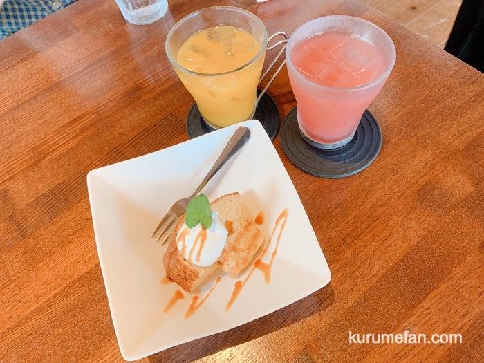 みのう山荘カフェ デザート